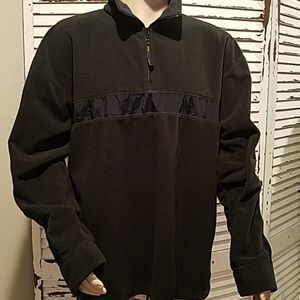 Vtg Tommy Hilfiger Spell Out  Fleece Pullover